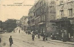 Ref 502- Puy De Dome -clermont Ferrand - Rue Saint Herem  / -carte Décollée -voir Dans Description - - Clermont Ferrand