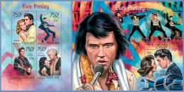 tg14221ab Togo 2014 Elvis Presley 2 s/s