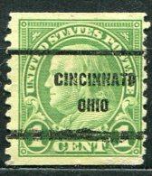 USA - Préoblitéré - Precancel - CINCINNATI - OHIO - Etats-Unis