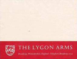 ENGLAND BROADWAY WORCESTERSHIRE LYGON ARMS HOTEL LARGE VINTAGE L