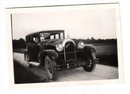 Automobile - Photo Originale - Talbot 11 Six - Format 8.8 X 6.2.cm - Automobiles
