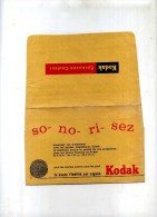 - PETITE POCHETTE KODAK . - Zubehör & Material