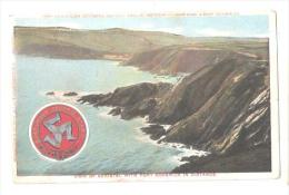 VIEW ON DOUGLAS SOUTHERN ELECTRIC RAILWAY DOUGLAS HEAD & PORT SODERICK VIEW OF KERISTAL WITH PORT SODERICK - Isle Of Man
