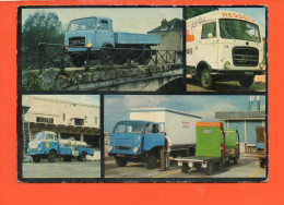 Automobile - Camions - UNIC-FIAT  (pli Coin Supérieur Droit) - Transporter & LKW
