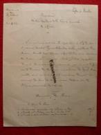 INVENTAIRE EGLISE DE MONTON 1906 - Historical Documents