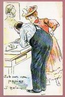 CP N° 205 - JOB Sur Son Papier Par J. BELON (collection Les Chefs D´ œuvre De La Carte Postale Par Neudin) - Illustrators & Photographers