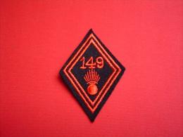 ECUSSON MODELE 45 / 149° RI / 149° REGIMENT D'INFANTERIE - Blazoenen (textiel)