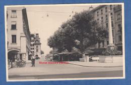 Photo Ancienne - GENEVE ( Suisse ) - Place Du Molard - 1955 - Lieux