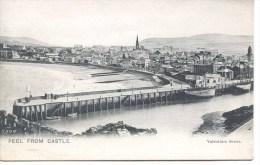 ISLE OF MAN - PEELFROM CASTLE IOM348 - Isle Of Man