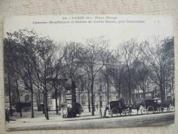 AL6- 75 - PARIS - CASERNE MOUFFETARD ET STATUE DE LOUIS BLANC - Arrondissement: 05