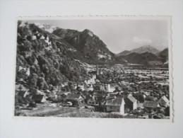 Postkarte / Echtfoto 1949 Vaduz (Fürstentum Liechtenstein) Verlag R. Ospelt. Stempel: Österreichische Zensurstelle 272 - Liechtenstein