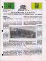 G)1997 MEXICO, AMEXFIL MAGAZINE, SPECIALIZED IN MEXICAN STAMPS, YEAR XV VOL. 15-SEP-OCT- 1997-NUM. 86, XF - Riviste: Abbonamenti