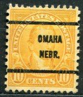 USA - Préoblitéré - Precancel - OMAHA - NEBRASKA - Etats-Unis
