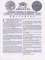 G)1993 MEXICO, AMEXFIL MAGAZINE, SPECIALIZED IN MEXICAN STAMPS, YEAR 10 VOL. 10-JAN-FEB- 1997-NUM. 58, XF - Riviste: Abbonamenti