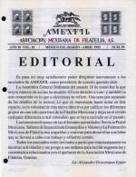 G)1993 MEXICO, AMEXFIL MAGAZINE, SPECIALIZED IN MEXICAN STAMPS, YEAR 10 VOL. 10-MAR-APR- 1997-NUM. 59, XF - Riviste: Abbonamenti