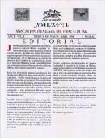 G)1994 MEXICO, AMEXFIL MAGAZINE, SPECIALIZED IN MEXICAN STAMPS, YEAR 11 VOL. 11-MAR-APR- 1994-NUM. 65, XF - Riviste: Abbonamenti