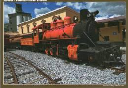 Lote PEP701, Ecuador, Postal, Postcard, Locomotora, Locomotive, Railway - Ecuador