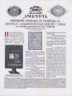 G)1994 MEXICO, AMEXFIL MAGAZINE, SPECIALIZED IN MEXICAN STAMPS, YEAR 11 VOL. 11-MAY-JUN- 1994-NUM. 66, XF - Riviste: Abbonamenti