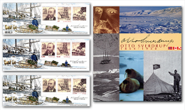 CANADA. 2004, ALBUM  JOINT ISSUE OTTO SVERDUP, 150 Th Of Birth, Souvenir Sheet From Canada, Norway & Greenland - Blocs-feuillets