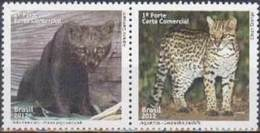 Brasil 2012 ** FELINOS. See Description. - Unused Stamps