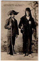 Azores, Two Men In Costumes, Early 1900´s - Açores