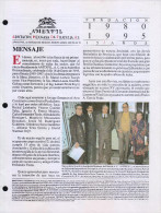 G)1995 MEXICO, AMEXFIL MAGAZINE, SPECIALIZED IN MEXICAN STAMPS, YEAR 12 VOL. 12-MAR-APR- 1995-NUM. 71, XF - Riviste: Abbonamenti