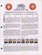 G)1995 MEXICO, AMEXFIL MAGAZINE, SPECIALIZED IN MEXICAN STAMPS, YEAR 12 VOL. 12-MAY-JUN- 1995-NUM. 72, XF - Riviste: Abbonamenti