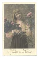 Cp, Fleurs, Rose De France - Fleurs, Plantes & Arbres