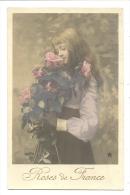 Cp, Fleurs, Roses De France - Fleurs, Plantes & Arbres