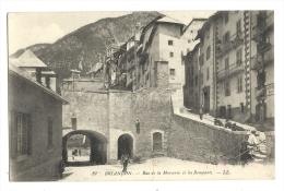 Cp, 05, Brainçon, Rue De La Mercerie Et Les Remparts - Briancon