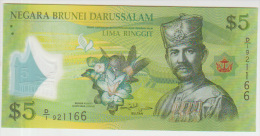 Brunei 5 Dollars 2011 Pick 36 UNC - Brunei