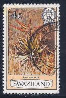 Swaziland, Scott # 349a Used Flowers, 1983 - Swaziland (1968-...)