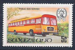 Swaziland, Scott # 374 MNH Bus Service, 1981 - Swaziland (1968-...)