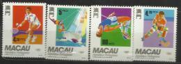 Macau 1992 Olympic Sports Set MNH - 1999-... Chinese Admnistrative Region