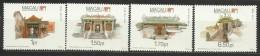 Macau 1992 Temples Set MNH - 1999-... Chinese Admnistrative Region