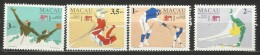 Macau 1994 12th Asian Games Set MNH - 1999-... Chinese Admnistrative Region
