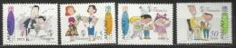 Macau 1996 Greetings Stamps Set MNH - 1999-... Chinese Admnistrative Region