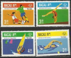 Macau 1996 Summer Olympic Games Atlanta Set MNH - 1999-... Chinese Admnistrative Region