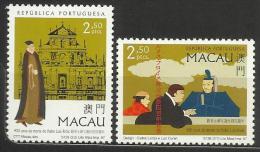 Macau 1997 Father Frois 400th Anniversary Death Set MNH - 1999-... Chinese Admnistrative Region