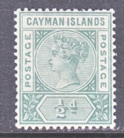 CAYMAN ISLANDS  1  *   Wmk 2 - Cayman Islands