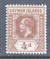 CAYMAN ISLANDS  32     *   Wmk 3 - Cayman Islands