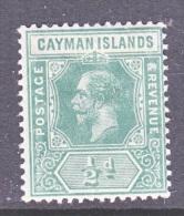CAYMAN ISLANDS  33     *   Wmk 3 - Cayman Islands