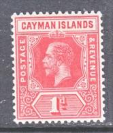 CAYMAN ISLANDS  34     *   Wmk 3 - Cayman Islands