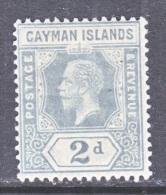 CAYMAN ISLANDS  35     *   Wmk 3 - Cayman Islands