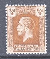 CAYMAN ISLANDS  50     *   Wmk  4 - Cayman Islands