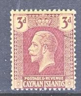 CAYMAN ISLANDS  56   *      Wmk  4 - Cayman Islands