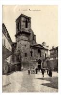 Cp , 30 , NÎMES , La Cathédrale , écrite - Nîmes