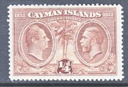 CAYMAN ISLANDS  69  * - Cayman Islands
