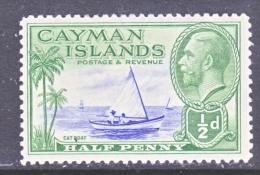 CAYMAN ISLANDS  86   *   CAT BOAT - Cayman Islands