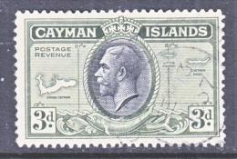 CAYMAN ISLANDS  91   (o)   MAP - Cayman Islands